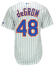 Majestic Kids' Jacob DeGrom New York Mets Replica Jersey, Big Boys (8-20)