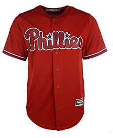 Majestic Men's Philadelphia Phillies Replica Cool Base Jersey