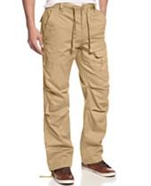 fa3bcedd85b Sean John Men s Pleat Pocket Flight Cargo Pants