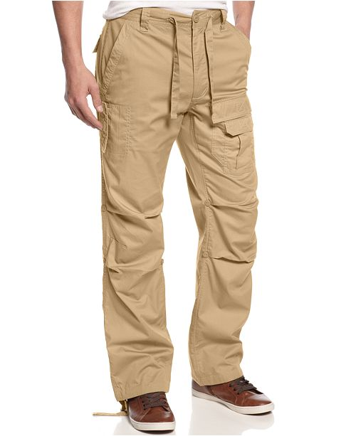 bee2d29f7da ... Sean John Men's Pleat Pocket Flight Cargo Pants, Created for Macy's ...