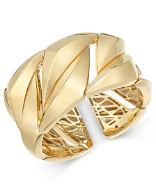 The Fifth Season by Roberto Coin 18k Gold-Plated Sterling Silver Cuff Bracelet 7771143SYBA0