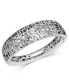 Sterling Silver Bangle Bracelet 7771229SBBA0