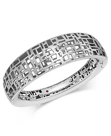The Fifth Season by Roberto Coin Sterling Silver Bangle Bracelet 7771229SBBA0