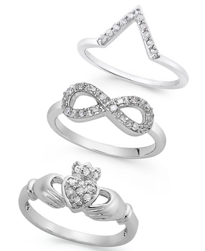 Diamond Ring (1/10 ct. t.w.) Collection