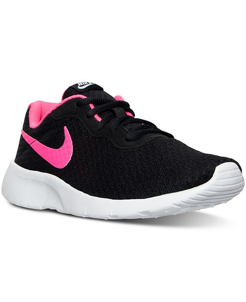 d0f7b04d10 Nike Big Girls' Tanjun Casual Sneakers from Finish Line & Reviews ...