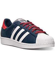 adidas Men's Originals Superstar NFL Pack Casual Sneakers from Finish Line