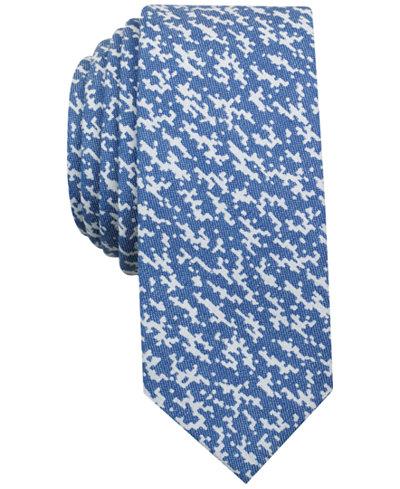 Original Penguin Men's Textured Pattern Skinny Tie