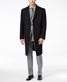 Big and Tall Signature Wool-Blend Overcoat