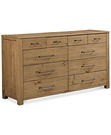 Abilene 10 Drawer Dresser, Created for Macy's