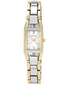 Women's Two Tone Bracelet Watch 10-6419SVTT