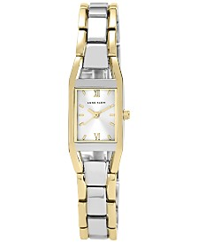 Anne Klein Women's Two Tone Bracelet Watch 10-6419SVTT