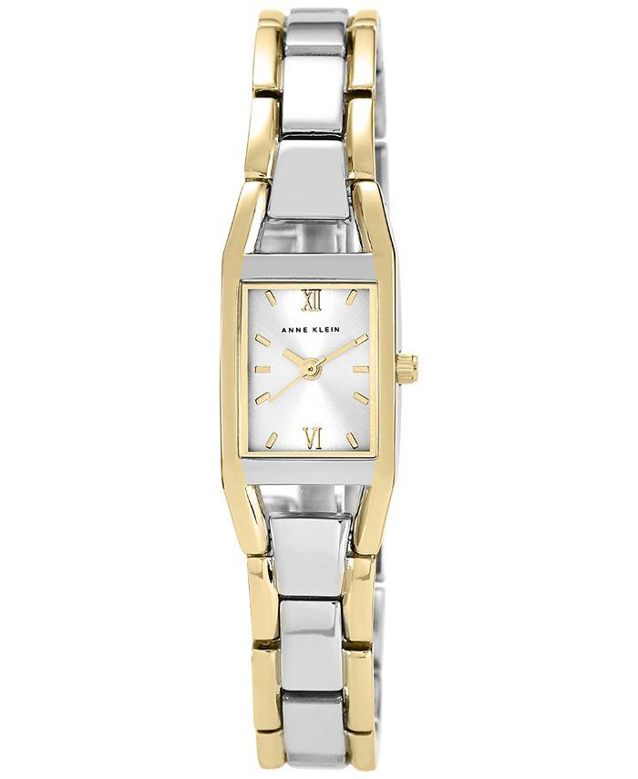 Anne Klein - Watch, Women's Two Tone Bracelet 10-6419SVTT