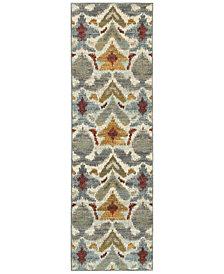 "Oriental Weavers Sedona 6371C 2'3"" x 7'6"" Runner Rug"