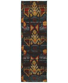 "Oriental Weavers Sedona 4378H 2'3"" x 7'6"" Runner Rug"