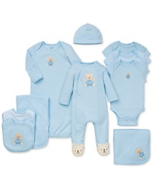 Baby Boys Cute Bear Gift Bundle