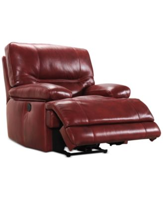 Randi Leather Power Recliner  sc 1 st  Macyu0027s : rigby power motion recliner - islam-shia.org