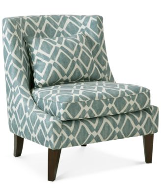 Kendall Fabric Accent Chair Quick Ship Furniture Macy S