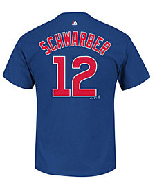 MajesticKyle Schwarber Chicago Cubs Player T-Shirt, Big Boys (8-20)