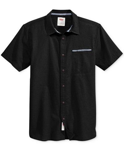 Levi's® Men's Rado Short-Sleeve Shirt - Casual Button-Down Shirts ...