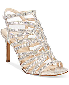 I.N.C. Women's Gawdie Caged Sandals, Created for Macy's