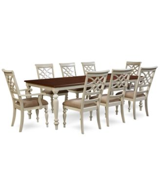 Windward 9-Pc. Dining Set (Dining Table, 6 Side Chairs & 2 Arm Chairs)