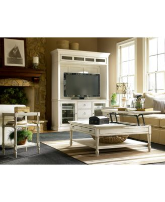 sag harbor white lift top coffee table - furniture - macy's