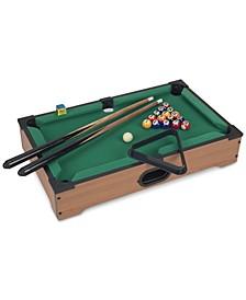 "Mini Tabletop Pool Set, 3.5"" x 12.25"" x 20.25"""