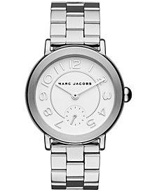 Marc Jacobs Women's Riley Stainless Steel Bracelet Watch 36mm
