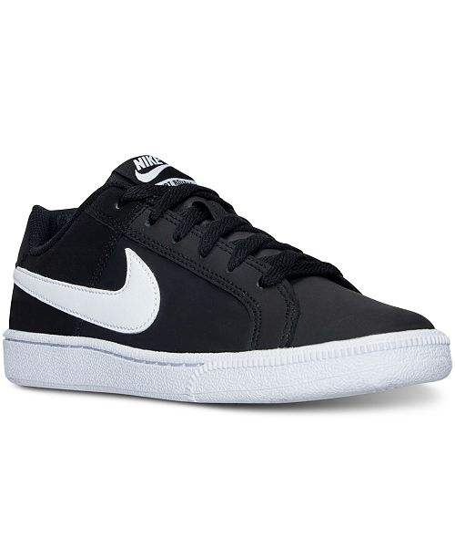 buy online 4d88f 2a7bf ... Nike Women s Court Royale Casual Sneakers from Finish ...