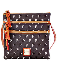 Dooney & Bourke Pittsburgh Pirates Triple Zip Crossbody Bag