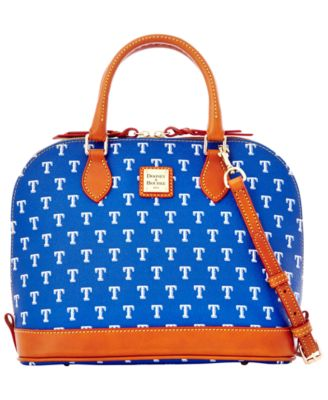 Texas Rangers Zip Zip Satchel