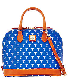Dooney & Bourke Texas Rangers Zip Zip Satchel