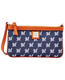 Dooney & Bourke Milwaukee Brewers Large Slim Wristlet