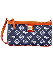 Dooney & Bourke Tampa Bay Rays Large Slim Wristlet
