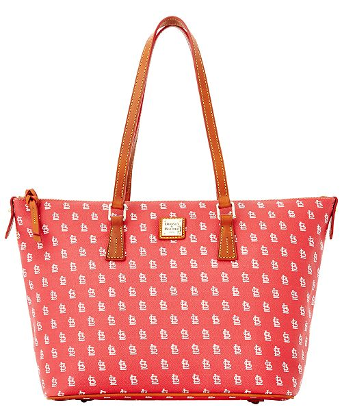 Dooney & Bourke St. Louis Cardinals Zip Top Shopper