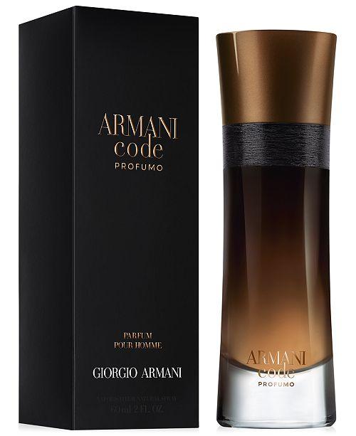 Giorgio Armani. Armani Code Profumo Eau de Parfum, 2 oz. 55 reviews. main  image  main image  main image ... 1182db00775f