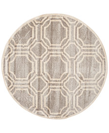 Safavieh Amherst Indoor/Outdoor AMT411 7' x 7' Round Area Rug