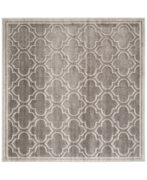 Safavieh Amherst Indoor/Outdoor AMT412C Grey/Light Grey 7' x
