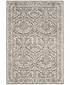 Safavieh Evoke EVK242D Ivory/Grey 3' x 5' Area Rug