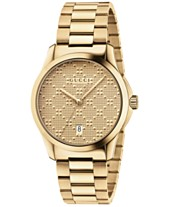 a4452031711ab8 Gucci Unisex Swiss G-Timeless Gold-Tone PVD Stainless Steel Bracelet Watch  38mm YA126461
