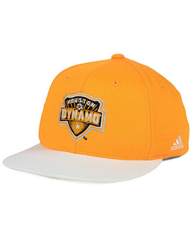adidas Kids' Houston Dynamo Goalie Snapback Cap