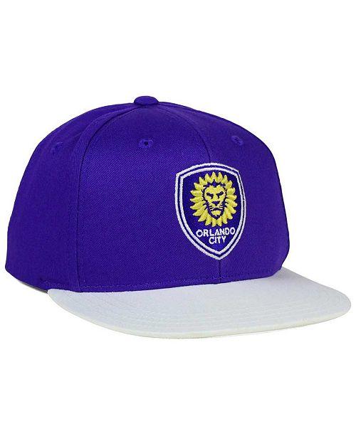 ae7305053e2 ... closeout adidas. kids orlando city sc goalie snapback cap. be the first  to write