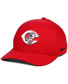 Nike Cincinnati Reds Ligature Swoosh Flex Cap