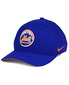 Nike New York Mets Ligature Swoosh Flex Cap