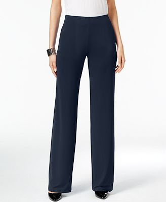 Petite Knit Wide-Leg Pants, Created for Macy's $34.99