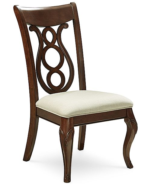 Furniture Bordeaux Upholstered Side Chair, Created for Macy's