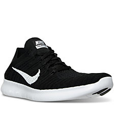 Nike Men's Free RN Flyknit Running Sneakers from Finish Line