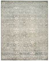 CLOSEOUT! Safavieh Evoke EVK270Z Silver/Ivory Area Rugs
