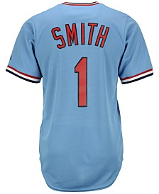 Majestic Men's Ozzie Smith St. Louis Cardinals Cooperstown Replica Jersey