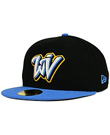 West Virginia Black Bears AC 59FIFTY Fitted Cap